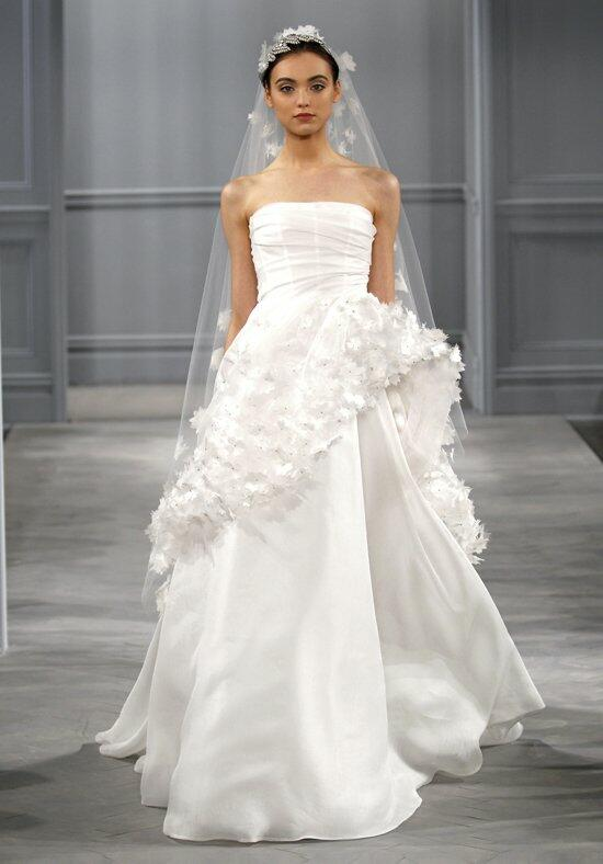 Monique Lhuillier Pearl Wedding Dress photo