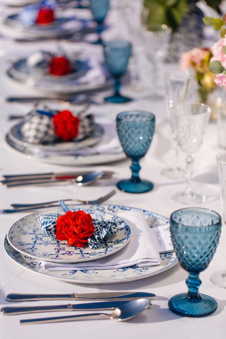Chinese-Inspired Place Settings