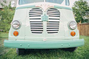 Hello Ice Cream Vintage Truck