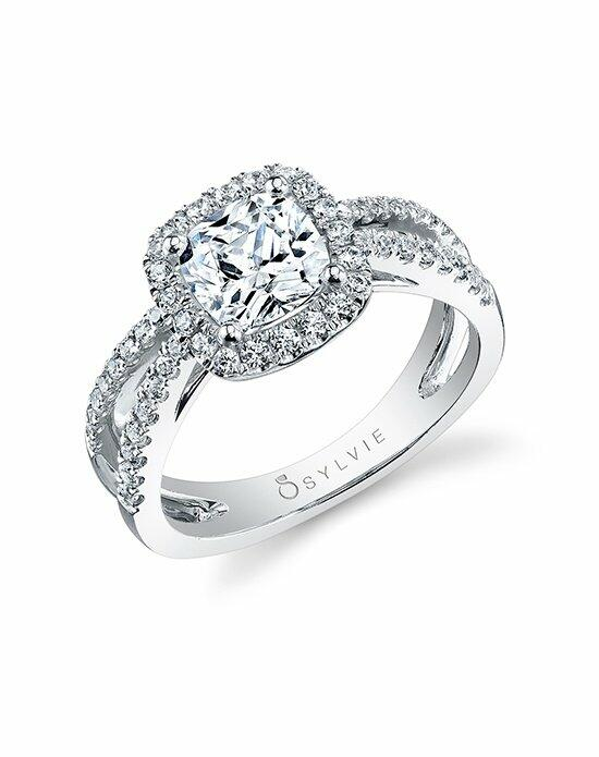 Sylvie Collection S1130 Engagement Ring photo