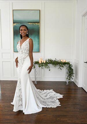 Essense of Australia D3248 Sheath Wedding Dress