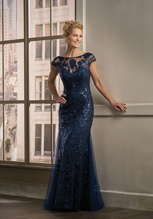 Jade Couture Mother of the Bride by Jasmine K198011 Blue Mother Of The Bride Dress