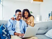 Newly engaged couple planning a wedding, how to plan a wedding