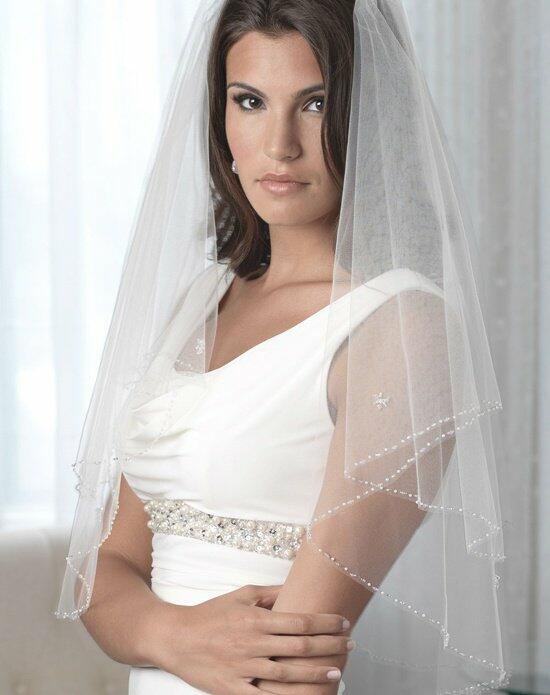 USABride 2-Layer, Felicity Beaded Edge Veil VB-5027 Wedding Veils photo