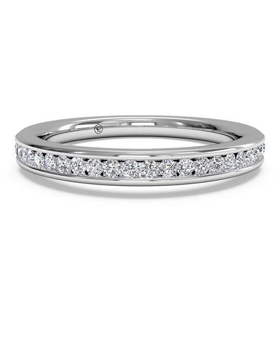 Ritani Women's Channel-Set Diamond Wedding Band - in 14kt White Gold (0.15 CTW) Wedding Ring photo