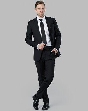 Menguin Classic Black Suit Black Tuxedo