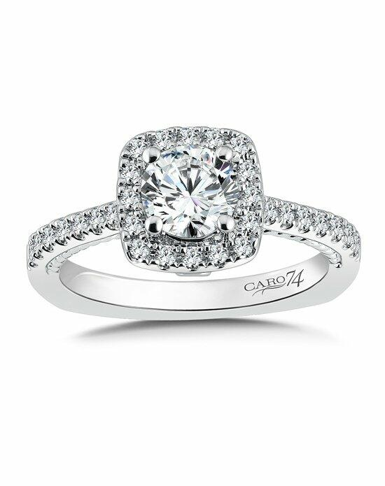 Caro 74 CR734W Engagement Ring photo