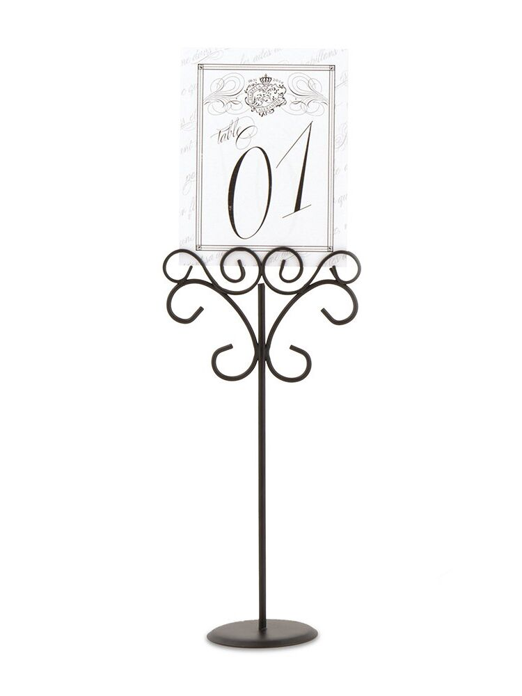 The Knot Shop ornamental wire stationery holder