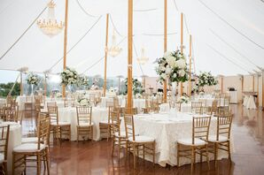 Figure Eight Yacht Club Tented Reception