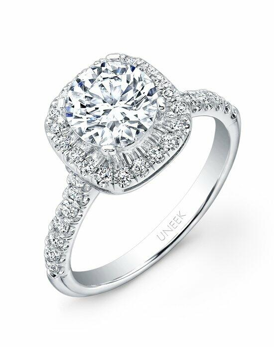 Uneek Fine Jewelry USM04CU-6.5RD Engagement Ring photo