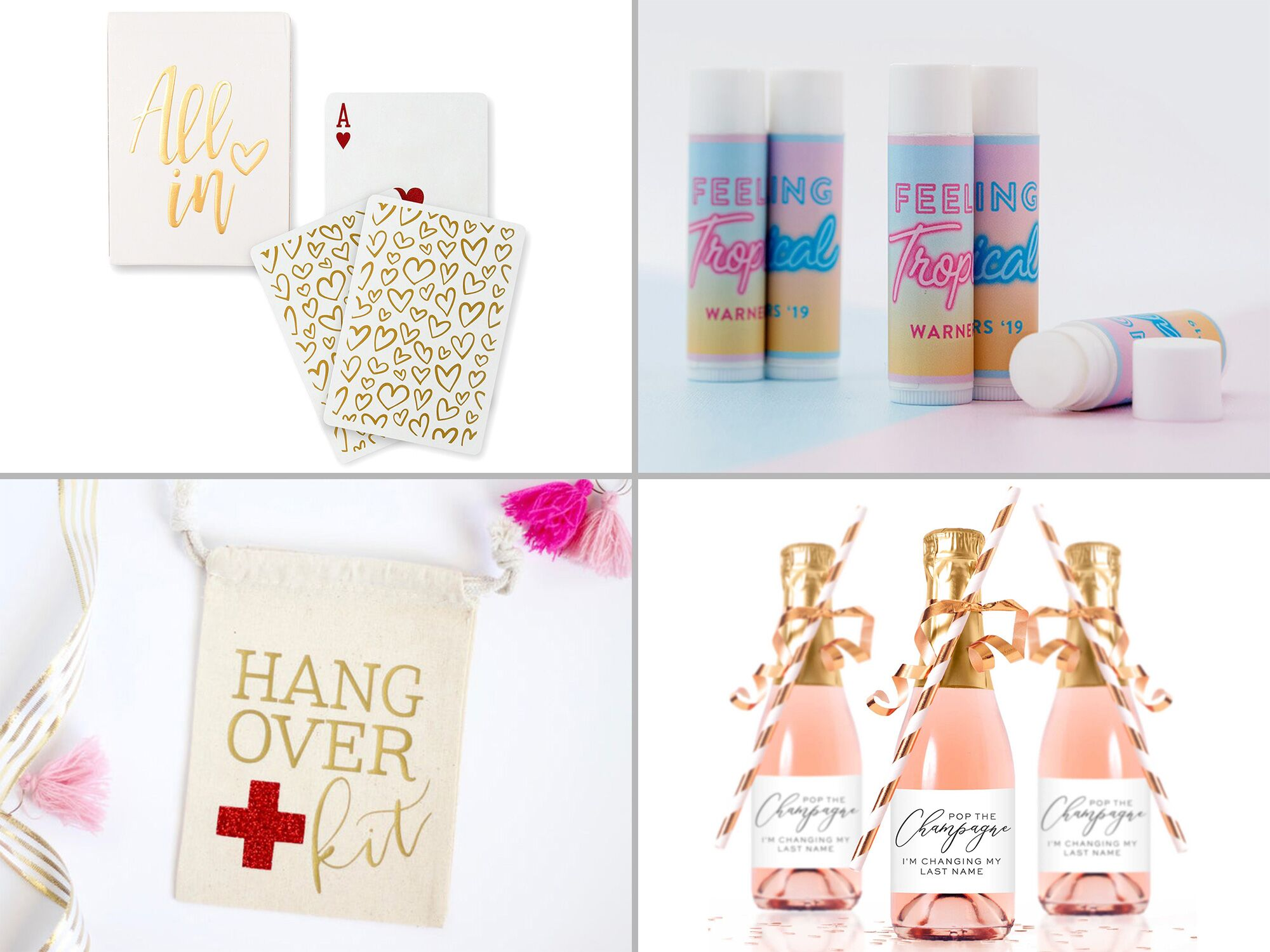 30 Cute Bachelorette Party Favors Your Crew Will Love