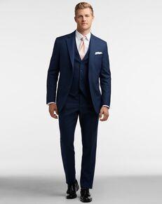 Men's Wearhouse BLACK by Vera Wang Blue Suit Tuxedo