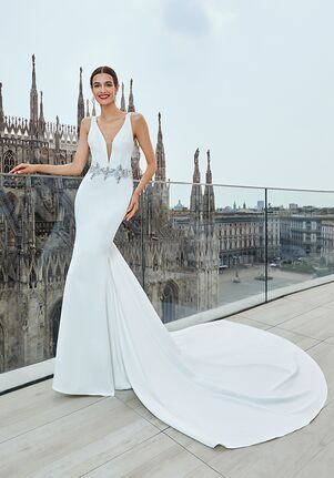 Demetrios 1141 Sheath Wedding Dress