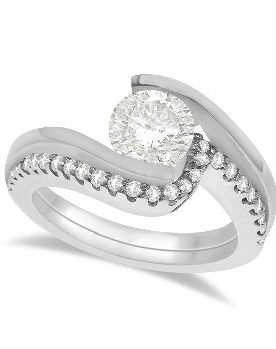 Allurez - Customized Rings U5695 Engagement Ring photo