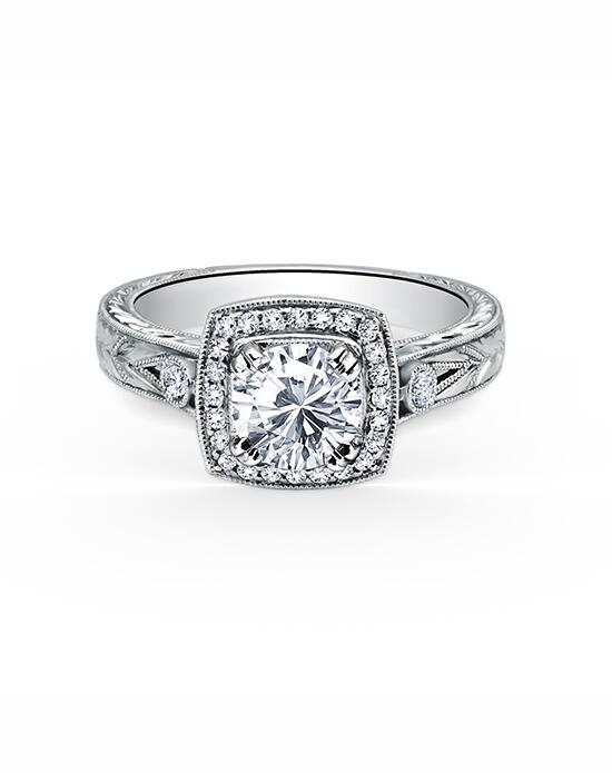Kirk Kara Carmella Collection K183C65R Engagement Ring photo