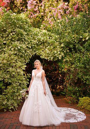 Essense of Australia D3121 A-Line Wedding Dress