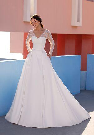 WHITE ONE BRADBURY Ball Gown Wedding Dress