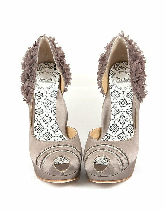 Hey Lady Shoes Luck Be A Lady Taupe Wedding Shoes photo