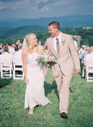 Samantha and Tyler's Mountainside Vineyard Ceremony