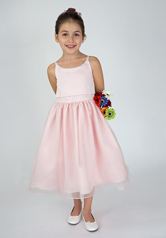 Us Angels Beautiful Color 684_blush Flower Girl Dress photo