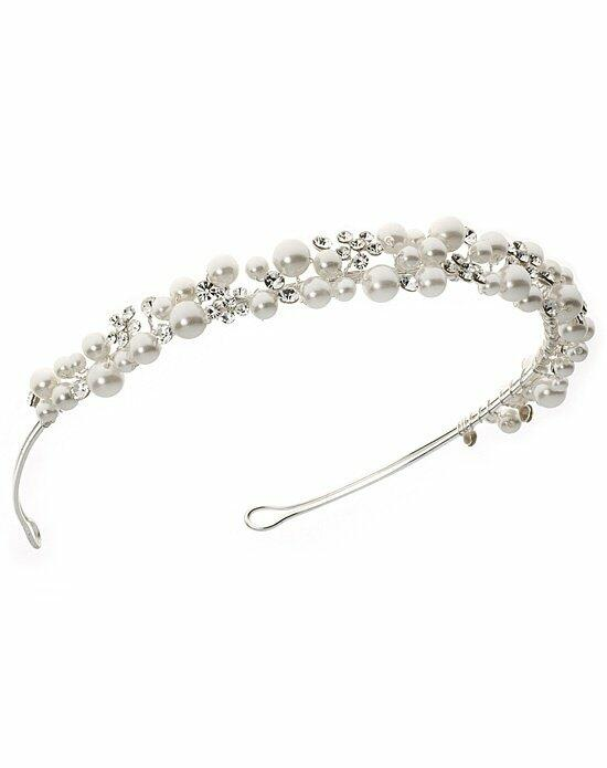 USABride Scattered Pearl & Rhinestone Headband TI-3140 Wedding Pins, Combs + Clips photo