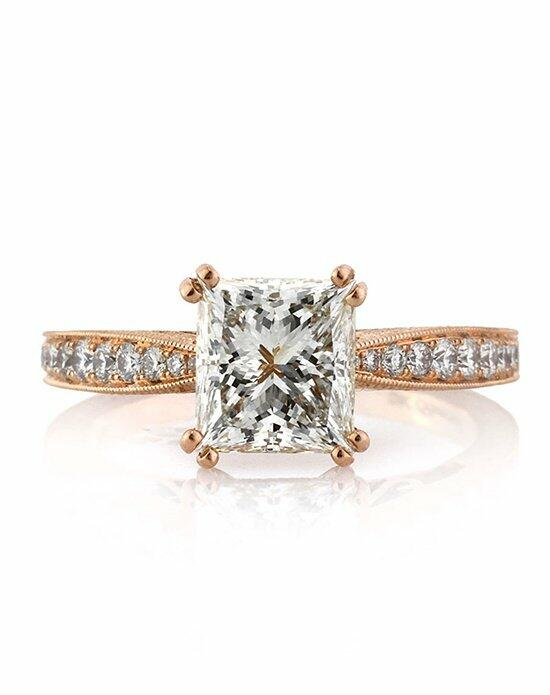 Mark Broumand 2.44ct Princess Cut Diamond Engagement Ring Engagement Ring photo