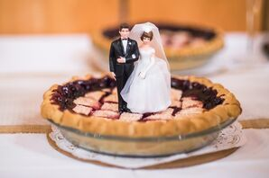 Alaskan Blueberry Pie Dessert