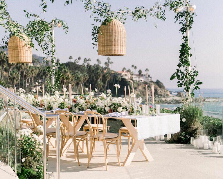 2022 wedding trends outdoor weddding laguna beach natural beautiful event