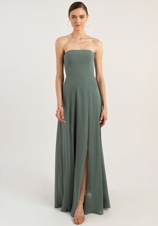 Jenny Yoo Collection (Maids) Essie Strapless Bridesmaid Dress