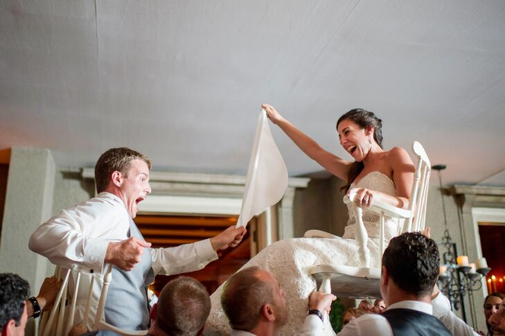 Traditional Hora at Lord Thompson Manor
