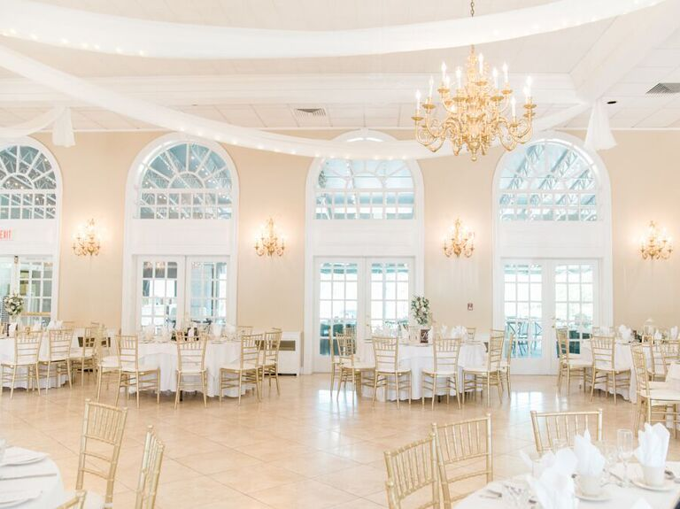 Wedding venue in Chesterfield, New Jersey.