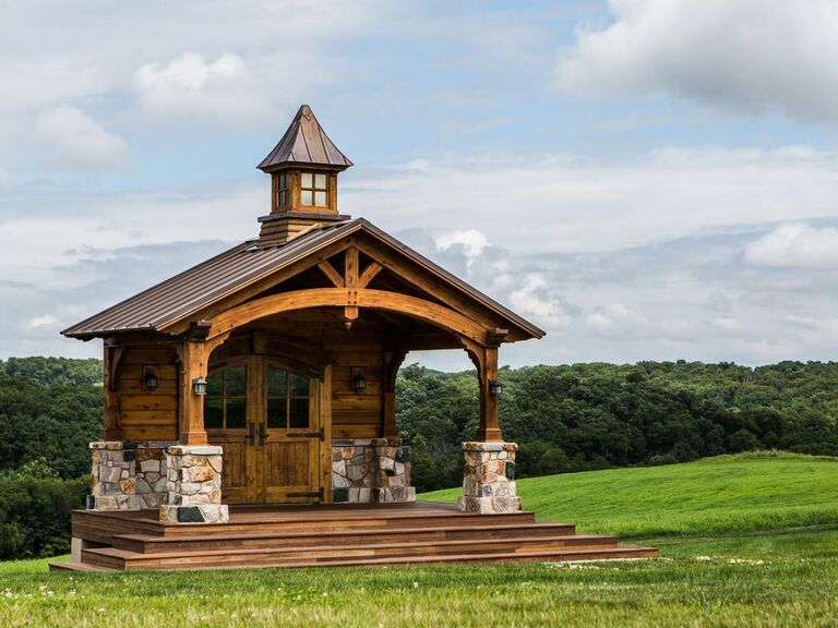 Farm wedding venue in York, Pennsylvania.