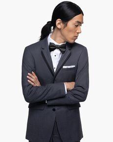 Generation Tux Charcoal Gray Notch Lapel Tux Gray Tuxedo
