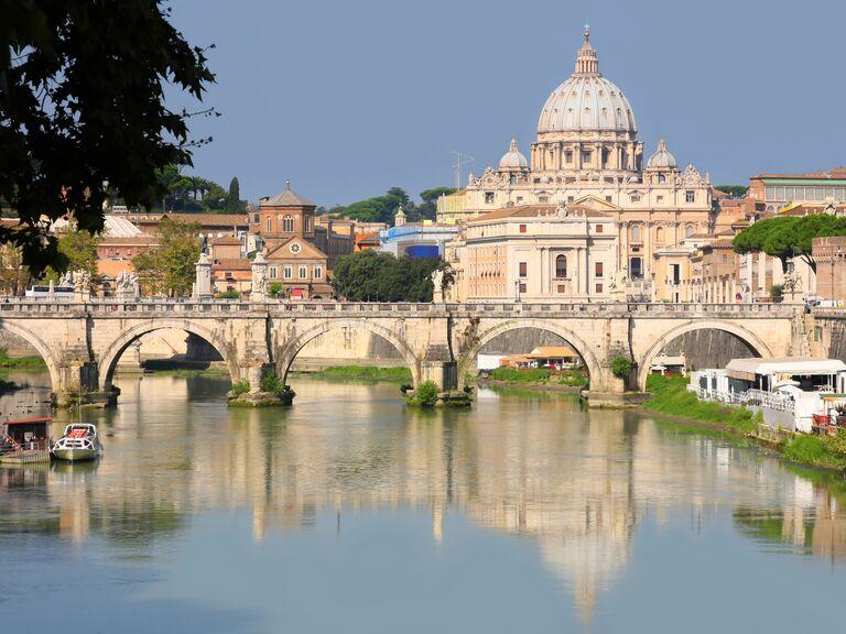 Europe wedding destination: Rome, Italy