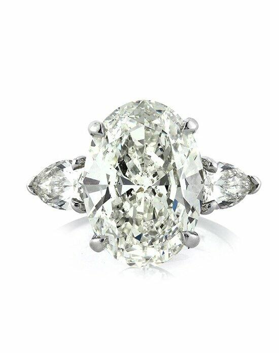 Mark Broumand 5.83ct Oval Cut Diamond Three-Stone Engagement Ring Engagement Ring photo