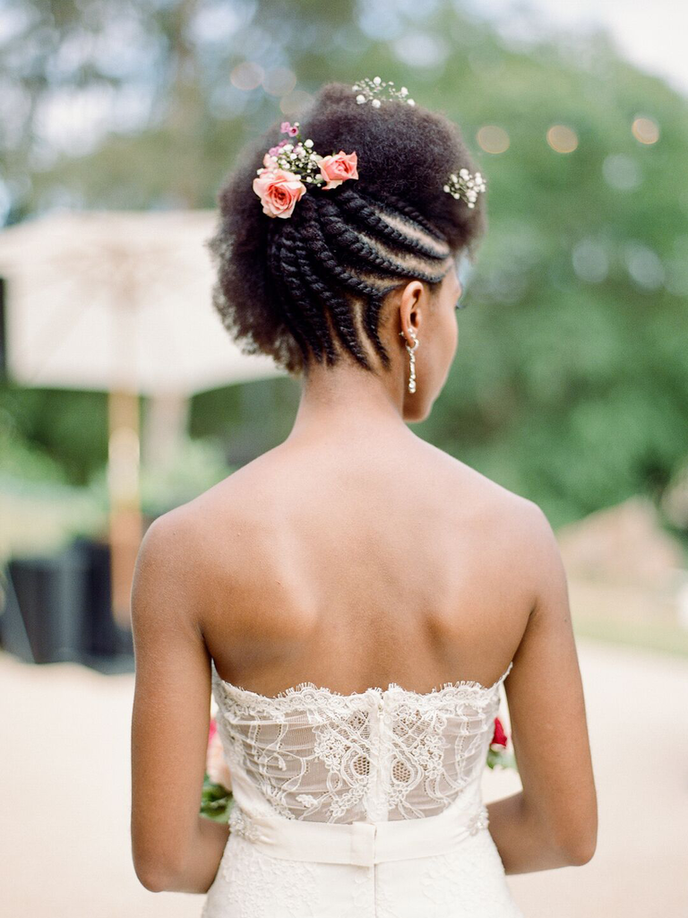 country wedding hairstyles braided updo