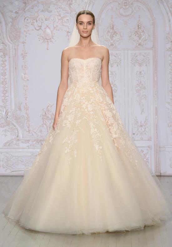 monique lhuillier paradise wedding dress photo