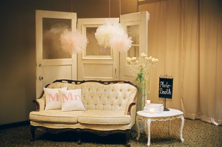 Vintage Furniture Photo Booth