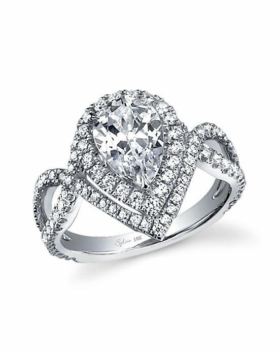 Sylvie Collection SY304PS Engagement Ring photo