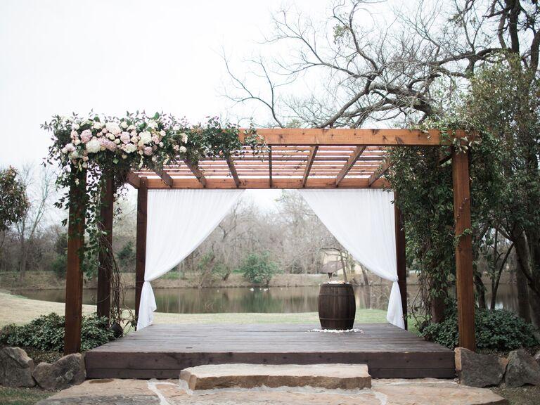 North Texas wedding venue in Parker, Texas.