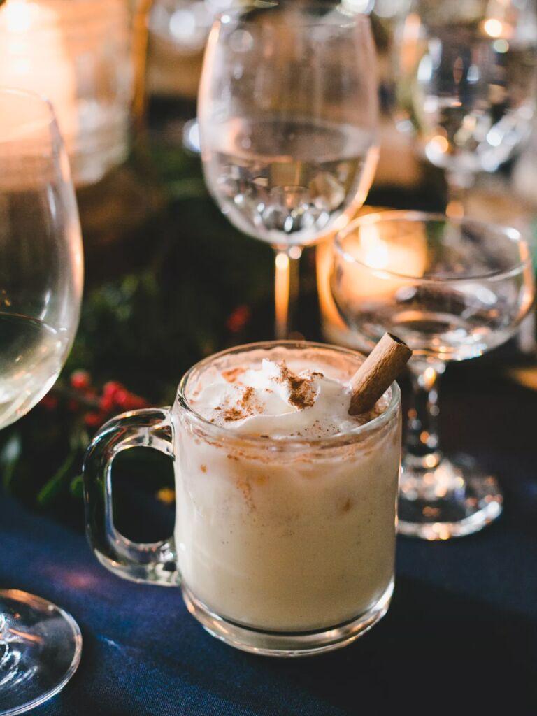 winter wedding ideas cozy cocktails