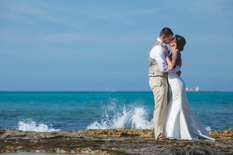 Wedding venue in Nassau, Bahamas.