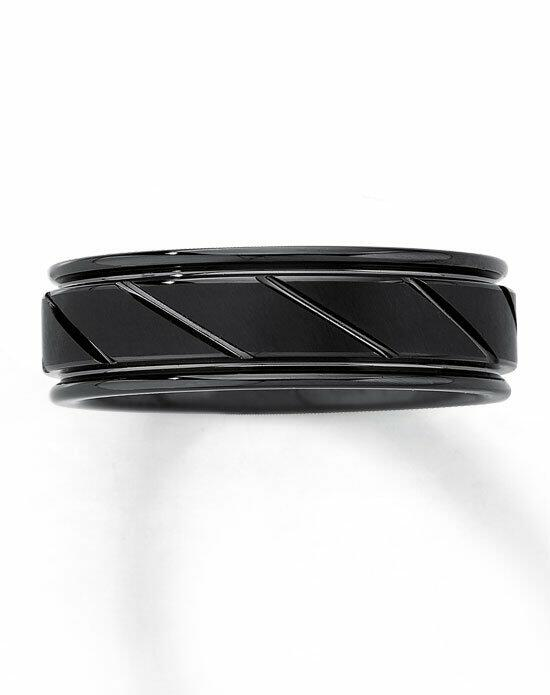 Kay Jewelers Black Tungsten Carbide 7mm Wedding Band-251981407 Wedding Ring photo