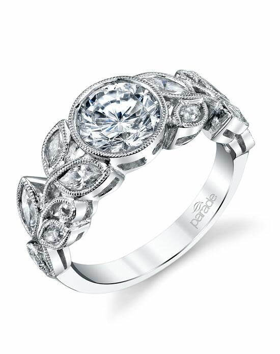 Parade Design Style R3329 from the Lyria Bridal Collection p Engagement Ring photo