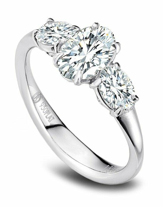 Platinum Must Haves Precision Set Platinum and Diamond Engagement Ring Engagement Ring photo