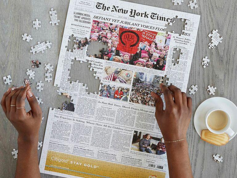 new york times custom puzzle