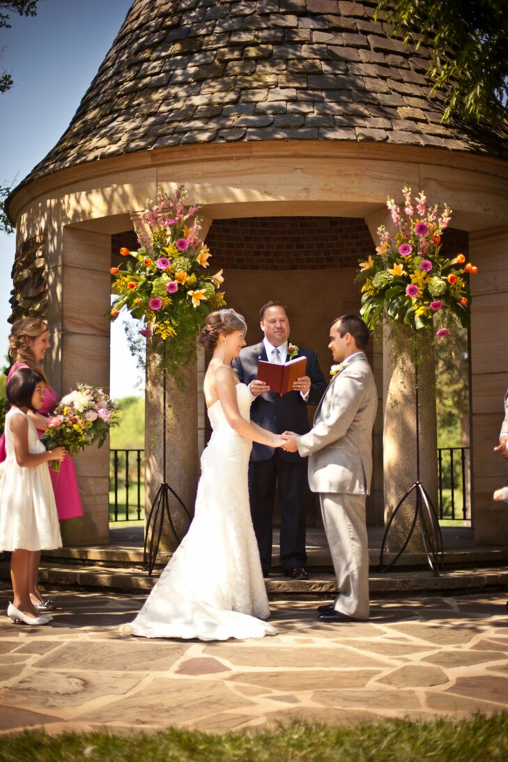 Outdoor Ceremony at The Graylyn Estate