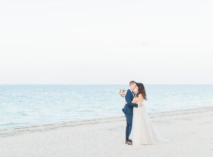 With white sandy beaches in Punta Cana, Dominican Republic, swaying palm trees and crystal blue seas providing the backdrop, Victoria Chae (27 and an