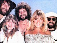 Fleetwood Mac group photo in 1975
