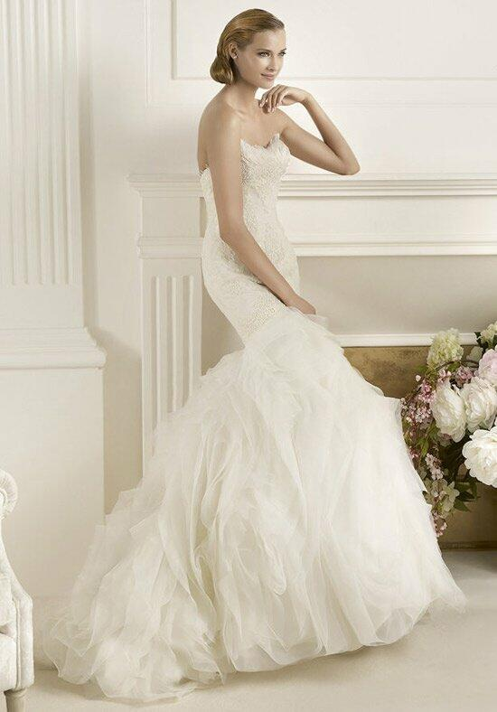 pronovias maricel wedding dress the knot
